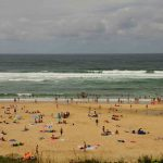 Strand Atlantik Biscarrosse Badestrand