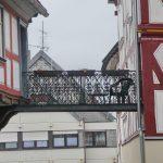 Alsfeld Vogelsbergkreis Altstadt Fussgängerbrücke