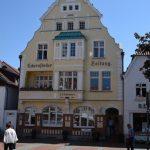 Gebäude der Eckernförder Zeitung Rathausplatz
