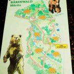 Bärenwald Müritz Wegeplan