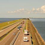 Ijsselmeer Deich Niederlande Holland