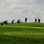 Golfplatz Abschlag Fleesensee