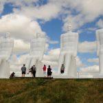 _DSC6075 Skulpturen Menschen und Meer Esbjerg Dänemark
