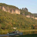 Schaufelraddampfer Pirna Elbe