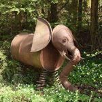 Skulptur im Wildgarten Furth