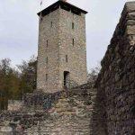 Altnussberg Burg Burgturm