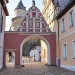 Schloss Wiesenburg Hoher Fläming Männekentor