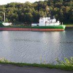 Frachter Nord-Ostsee-Kanal